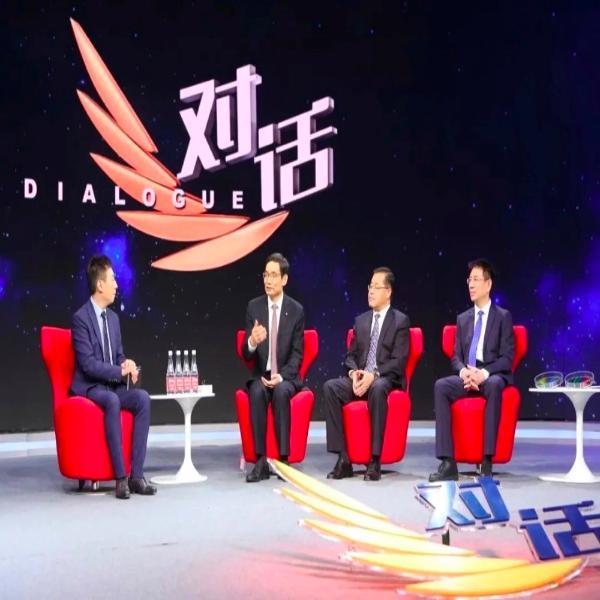 周育先受邀参加央视对话节目,谈企业家精神,讲中国建材故事